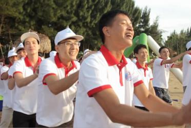 Tổ chức Team building biển Hải Tiến – Thiên Đường Xứ Thanh Resort